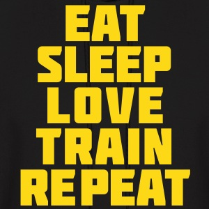 Eat Sleep Gym Motivation Hoodies - Men's Hoodie