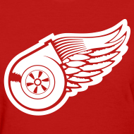 Design ~ Red Wings Turbo Womens Tee