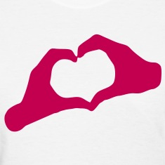 LOVE - Hands Heart - HEART - AMOUR - AMOR - HandHeart - Hands - Heart - SHIRT