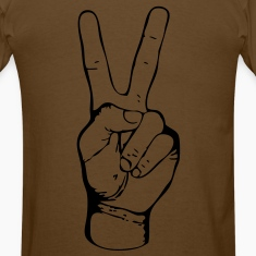 PEACE - FREEDOM - LIBERTY - JUSTICE - handsign - hand - sign - SHIRT