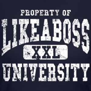 like a boss Long Sleeve Shirts - Women's Long Sleeve Jersey T-Shirt