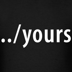 ../yours - Men's T-Shirt
