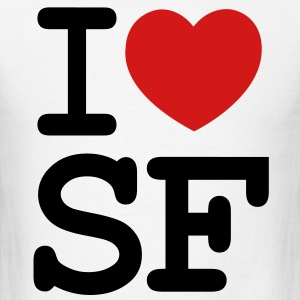 I LOVE SAN FRANCISCO  - Men's T-Shirt