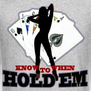 poker know when to hold em - Crewneck Sweatshirt