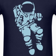 Astronaut Vector Design T-Shirts