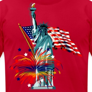 Patriotic - Men's T-Shirt by American Apparel