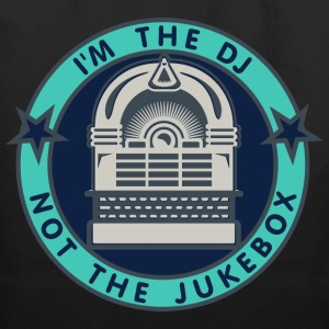 I'm the DJ - not the jukebox (5, DDP) Bags  - Eco-Friendly Cotton Tote