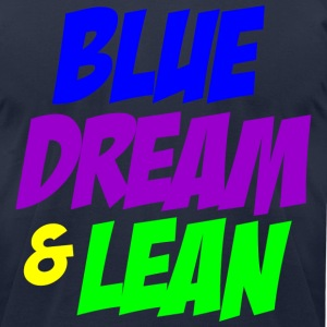 Blue Dream and Lean T-Shirts - Men's T-Shirt by American Apparel