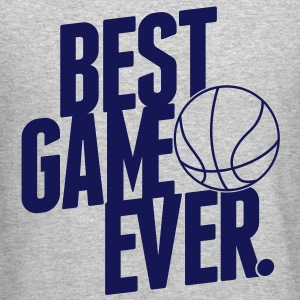 basketball - best game ever Long Sleeve Shirts - Crewneck Sweatshirt