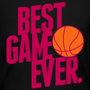 basketball - best game ever Long Sleeve Shirts - Women's Long Sleeve Jersey T-Shirt