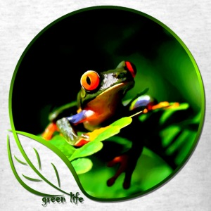 Green Life Series - Tree Frog (MGT) - Men's T-Shirt