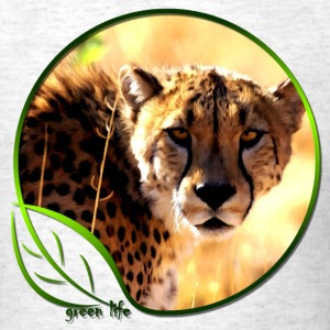 Green Life Series - Cheetah (MGT) - Men's T-Shirt