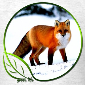 Green Life Series - Arctic Fox (MGT) - Men's T-Shirt