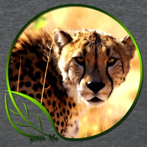 Green Life Series - Cheetah  (WGT) - Women's T-Shirt