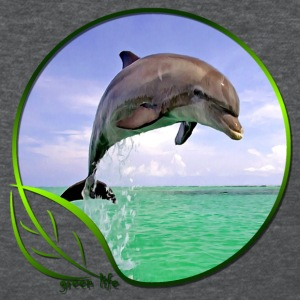 Green Life Series - Dolphin (WGT) - Women's T-Shirt