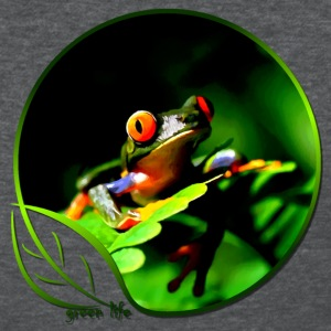 Green Life Series - Tree Frog (WGT) - Women's T-Shirt