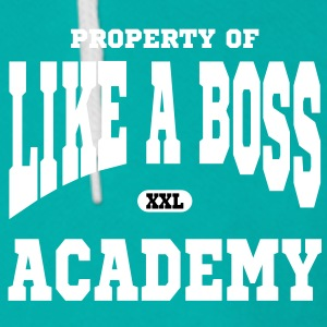 Property of Like A Boss Academy Zip Hoodies/Jackets - Unisex Fleece Zip Hoodie by American Apparel
