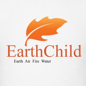 earth child air fire water pagan wiccan witchcraft - Men's T-Shirt