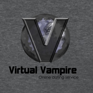 virtual vampire online dating service goth hipster - Women's T-Shirt