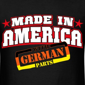 MADE IN AMERICA - German PARTS - Men's T-Shirt