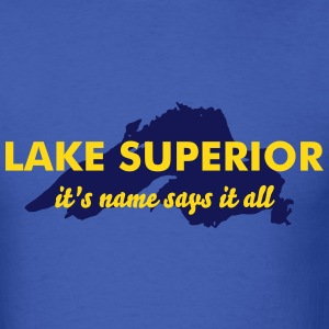 lake superior T-Shirts - Men's T-Shirt