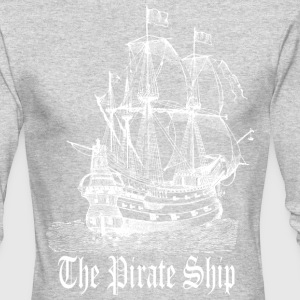 Pirate Ship Long Sleeve Shirts - Men's Long Sleeve T-Shirt by Next Level