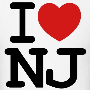 I LOVE NJ - Men's T-Shirt