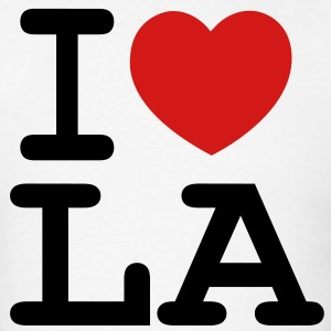 I LOVE LOS ANGELES - Men's T-Shirt