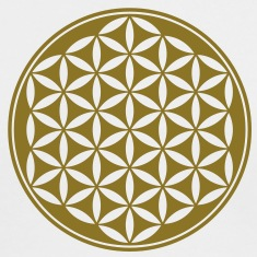 Flower of Life - Vector- Sacred Geometry, energy symbol, healing symbol,  Long Sleeve Shirts