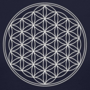 Flower of Life - FEEL THE ENERGY, Sacred Symbol, Energy Symbol, Harmony, Balance Long Sleeve Shirts - Women's Long Sleeve Jersey T-Shirt