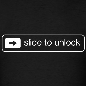 Slide to unlock T-Shirts - Men's T-Shirt