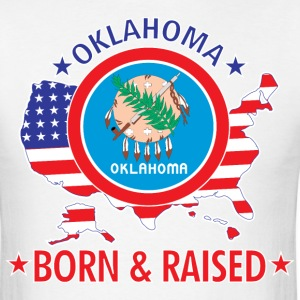 Oklahoma_born_and_raised T-Shirts - Men's T-Shirt