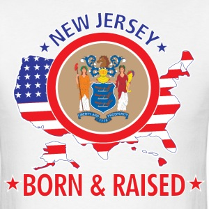 New_Jersey_born_and_raised T-Shirts - Men's T-Shirt