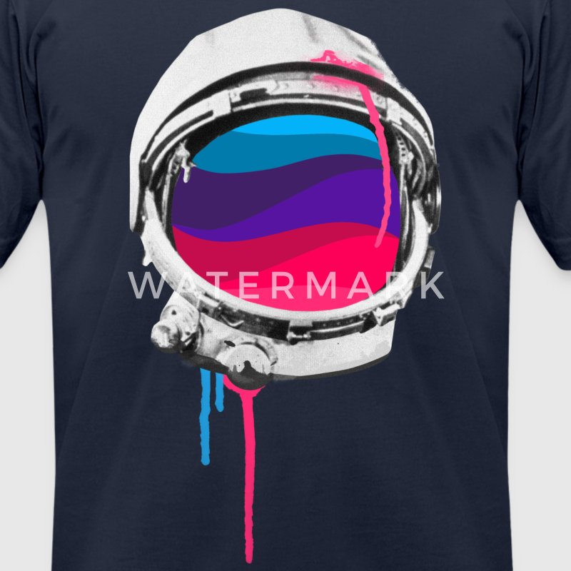 Cosmonaut - Men's T-Shirt by American Apparel