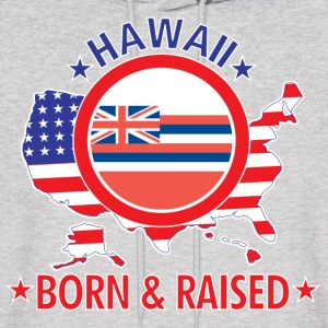 Hawaii_born_and_raised Hoodies - Men's Hoodie