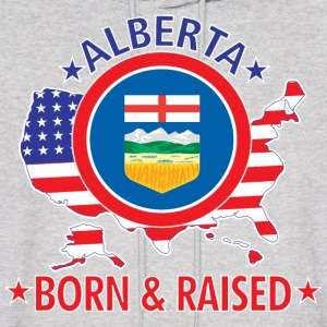 Alberta_born_and_raised Hoodies - Men's Hoodie