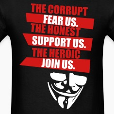 Anonymous (HQ) T-Shirts