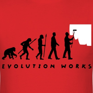 evolution_painter_042012_a_2c T-Shirts - Men's T-Shirt