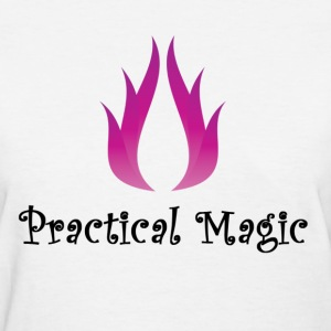 practical magic wiccan witchcraft pagan fire Shirt - Women's T-Shirt