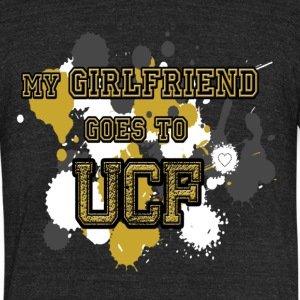 UCF Boyfriend - Unisex Tri-Blend T-Shirt by American Apparel