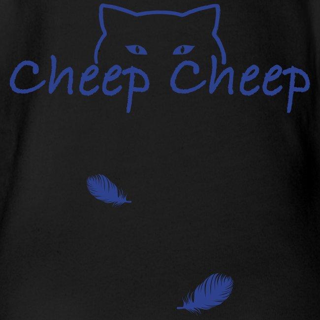 #CheepCheep baby  - Navy Ink