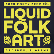 Design ~ Men's Zipper Hoodie with Liquid Folk Art (back) and Liquid Folk Art (front)