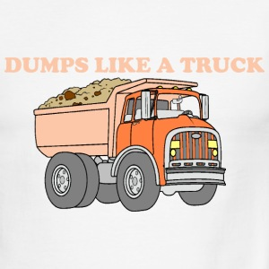 Dumps Like A Truck - Men's Ringer T-Shirt