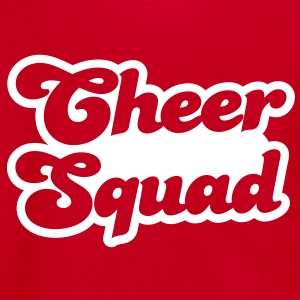 cheer squad cheerleader design Zip Hoodies/Jackets - Unisex Fleece Zip Hoodie by American Apparel
