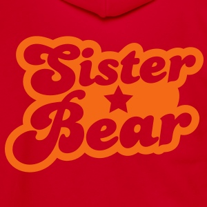 Sister bear Zip Hoodies/Jackets - Unisex Fleece Zip Hoodie by American Apparel