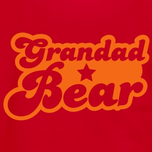 grandad bear Zip Hoodies/Jackets - Unisex Fleece Zip Hoodie by American Apparel