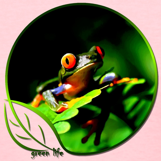 Green Life Series - Tree Frog