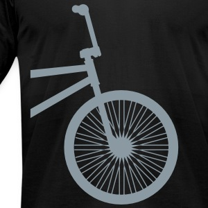 BMX Silver- American Apparel AA Shirt (M) - Men's T-Shirt by American Apparel