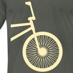 BMX Creme- American Apparel AA Shirt (M) - Men's T-Shirt by American Apparel