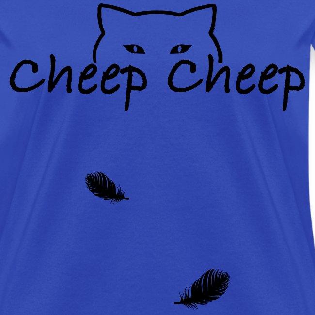 Cheep-Cheep Shirt BLACK ink - WOMENS